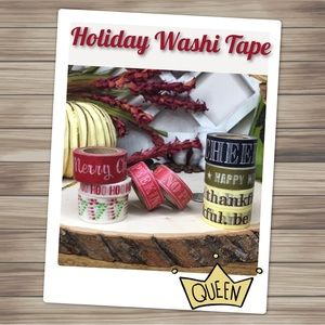 Other - Thanksgiving, Christmas and New Year's Washi Tape